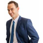 Dan Profile Pic - Blue Tie