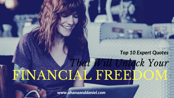 financial freedom, ahana lara, ahanaanddaniel